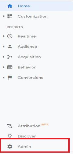 E-Commerce-tracking-admin-button-google-analytics